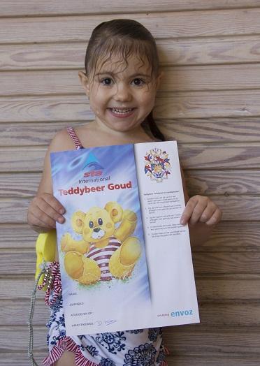 Teddybeer diploma