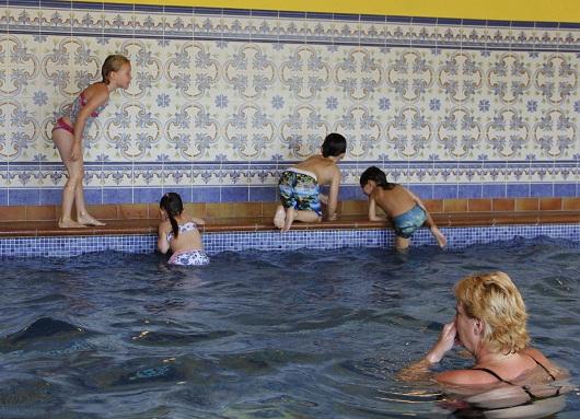 Spelen rond het water